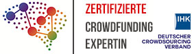 Zertifizierte Crowdfunding Expertin