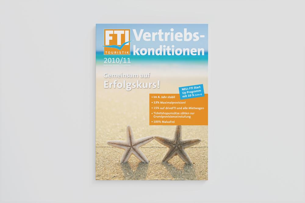Provisionsbroschüre für FTI Touristik