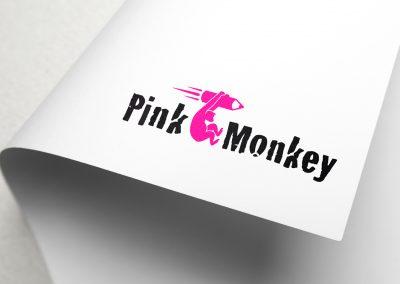 PinkMonkey Logoentwicklung