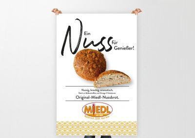 Bäckerei Miedl Plakat