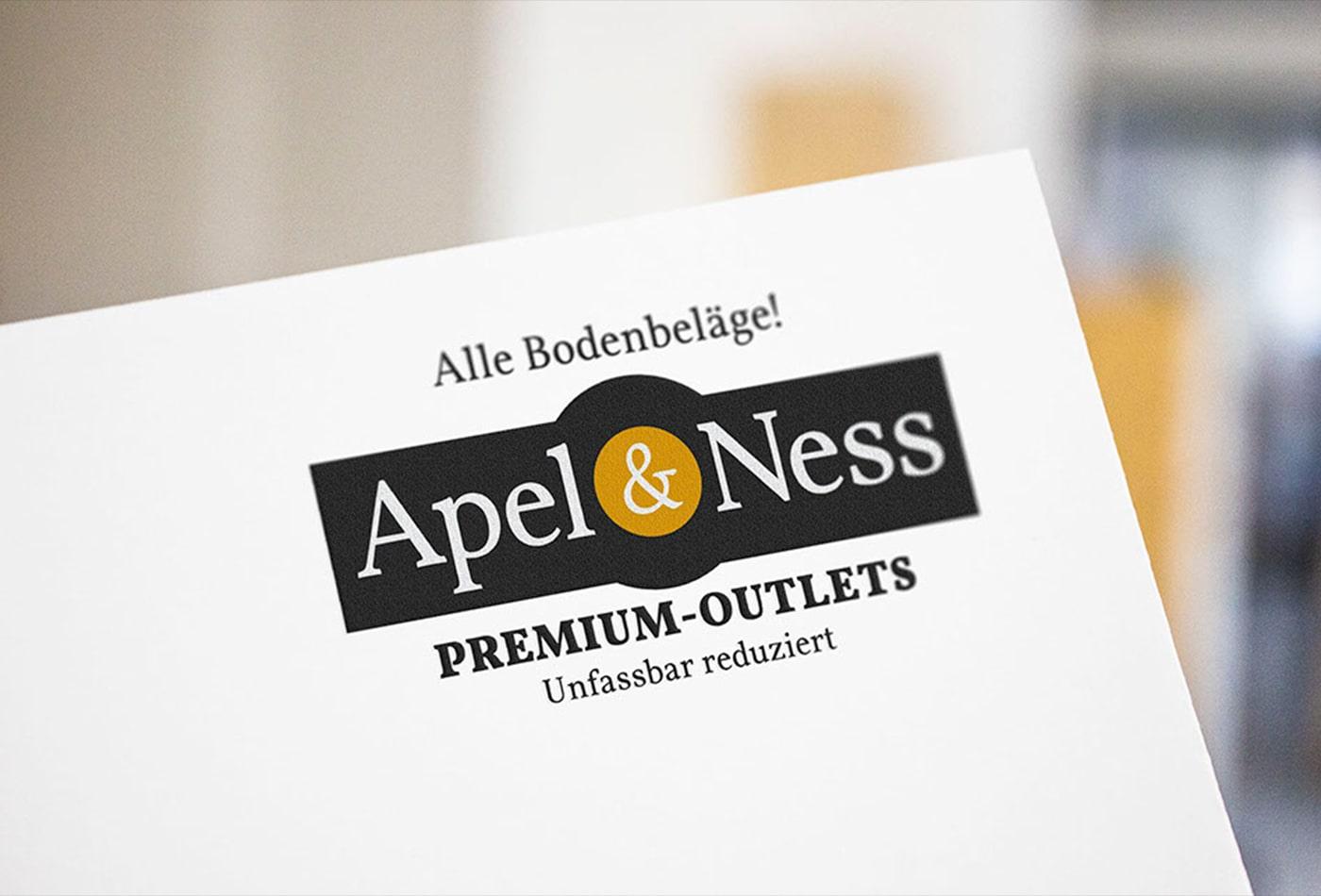 Apel&Ness Logoentwicklung