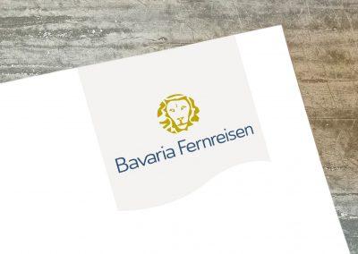 Bavaria Fernreisen Logoentwicklung