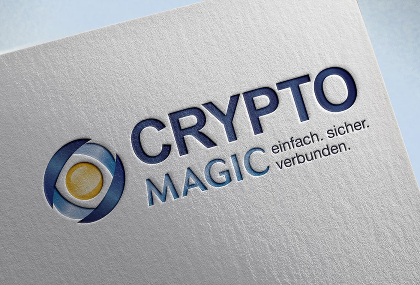 Crypto Magic Logoentwicklung