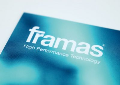 framas Logo und Corporate Design