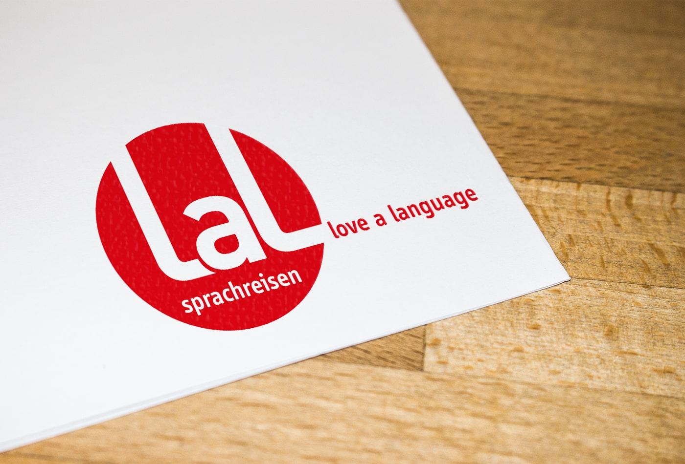 LaL Sprachreisen Logoentwicklung