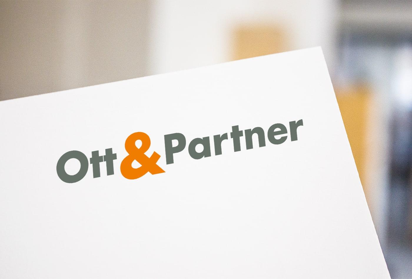 Ott&Partner Logoentwicklung
