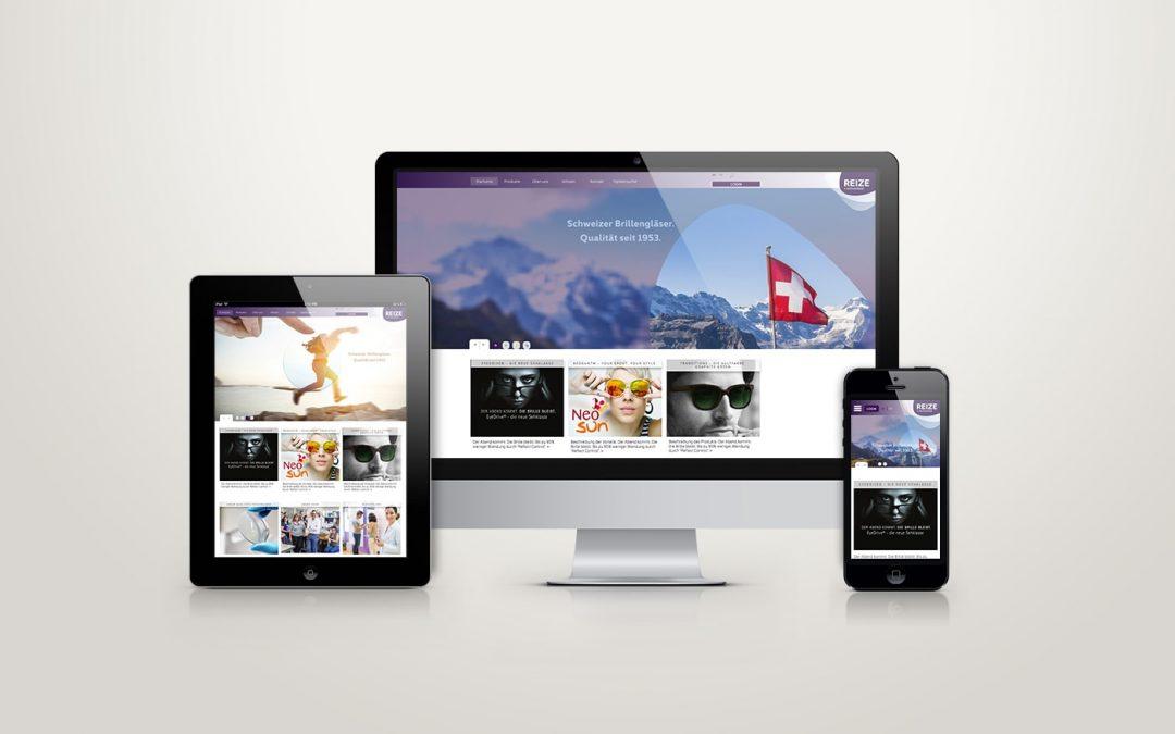 Reize Webdesign