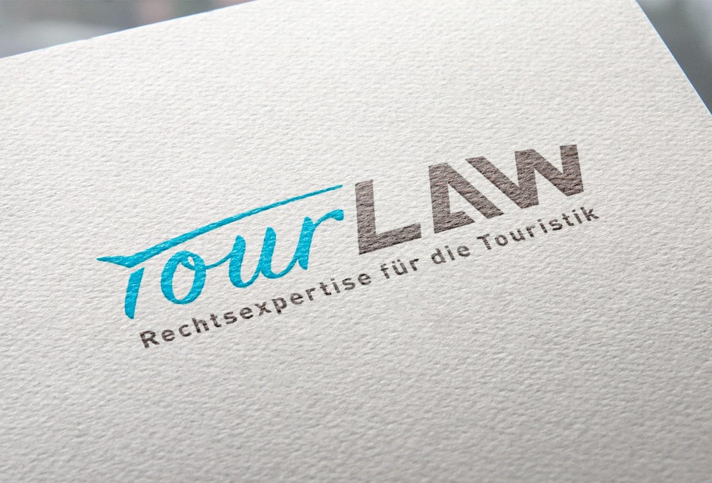 TourLaw Logoentwicklung