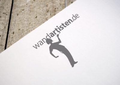 wandartisten.de Logoentwicklung